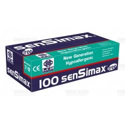 Gant SENSIMAX sans latex non poudré (6-7)