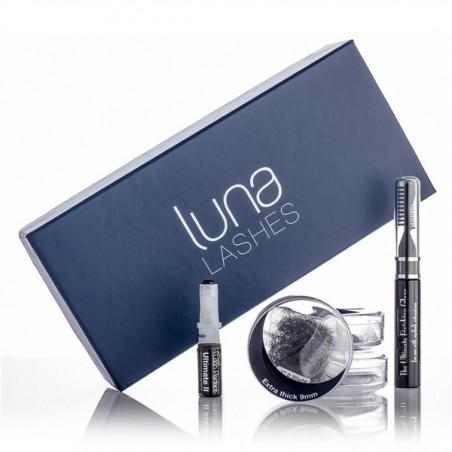 Luna Lashes Pack de 3 x 0.15 + 1 mascara soins + Colle